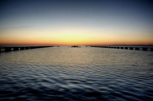 A baltic sunset. Gotland. Un atardecer báltico