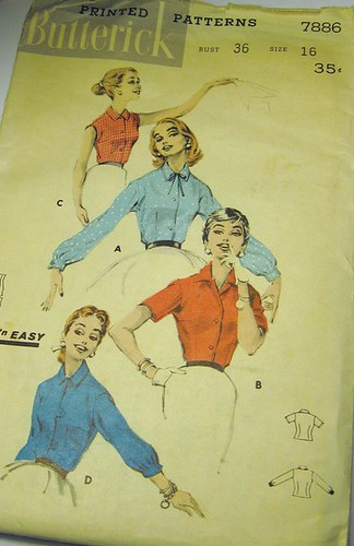 Butterick 7889 vintage pattern