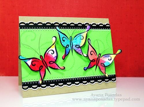 Nail Polish DeNami Butterflies (2)