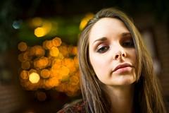 Jessica Claire (Onigun) Tags: california street sunset summer portrait color girl grass model nikon warm bokeh young lifestyle sacramento brunette