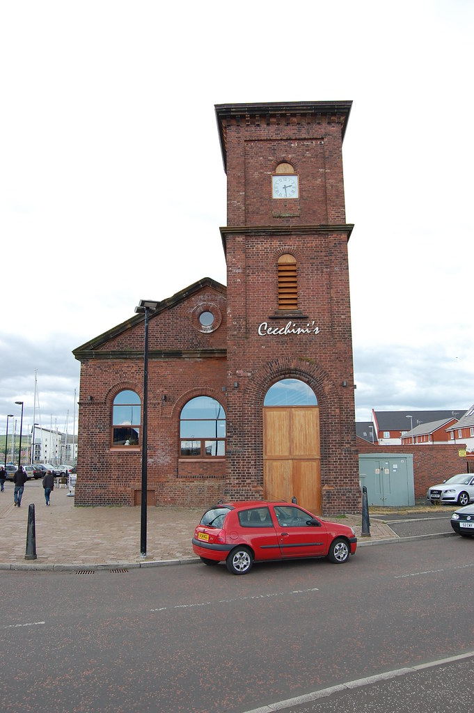 Former Ardrossan harbour Hydraulic Pumping Station