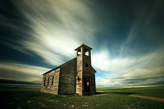Old Cottonwood Church (Todd Klassy) Tags: old sky usa cloud west building history dusty abandoned broken church parish horizontal architecture neglect america landscape lost outdoors wooden worship montana heaven moody mt desert artistic decay empty rustic dream nobody dirty belltower steeple christian spooky cover cottonwood western mysterious ghosttown townhall weathered restoration christianity damaged decline abandonment greatdepression cloudscape historicpreservation oldfashioned rundown sundayschool deterioration remnant ruralamerica naturalforces greatplains oneroomschoolhouse stockphotography nationaltrustforhistoricpreservation historicsites brokendreams ruralscene prairiechurch builtstructure historictreasures toddklassy montanamagazine montanaphotographer ghosttownsinmontana cottonwoodlutheranchurch montanalandscapephotographer