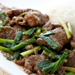 Shacha Beef & Garlic Chives Stir-Fry