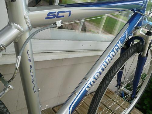 Northrock SC7 Hybrid Comfort Bike