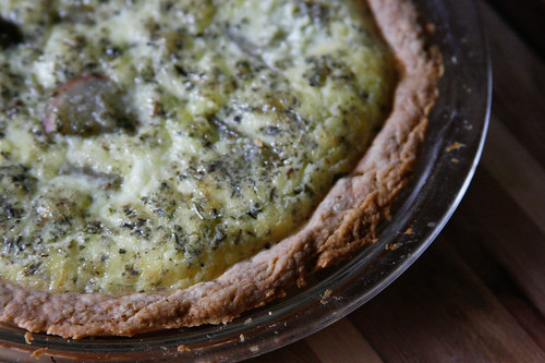potato feta quiche