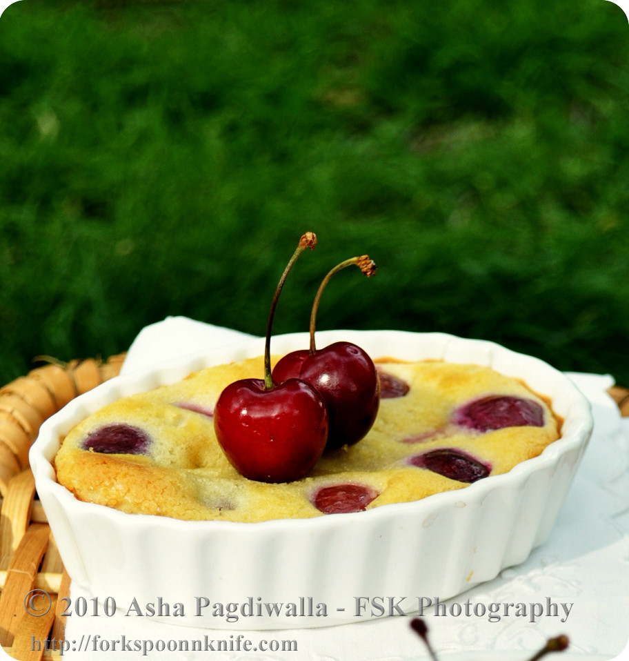 Cherry Clafoutis single