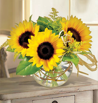 Sunflower bouquets by Send Flowers with Florist Delivery