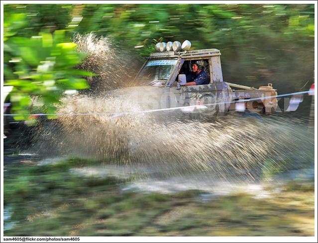 Ranau Kaamatan 4x4 Challenge - Kinaway Toyota Landcruiser Mark 2