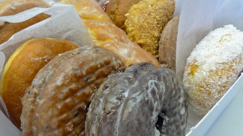 A box of yum from Kane's Donuts