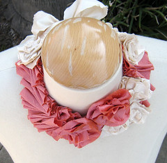Silk Flower Necklace DIY -TOP