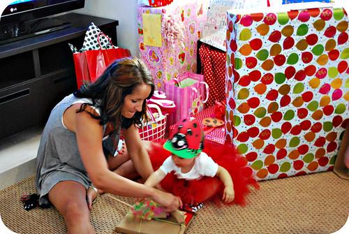 opening fun gifts...