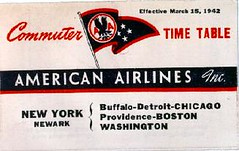 Advertisement for American Airlines in 1942. (La Guardia and Wagner Archives) Tags: aviation advertisement laguardia fiorellolaguardia fiorello thelittleflower mayorlaguardia
