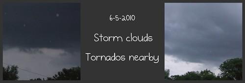 storm clouds 6-5-2010