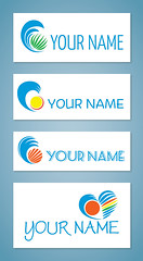 Free logo designs for seaside travel agencies, beach bars or equipment rentals