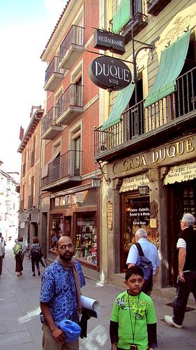 Duke house, the oldest inn Segovia