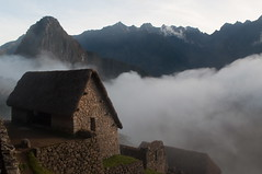 Guardhouse at Machu Picchu Photo
