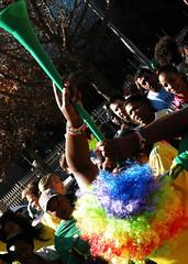 Vuvuzela Day (Dundas Football Club) Tags: southafrica football soccer vuvuzela worldcup2010 bafanabafana