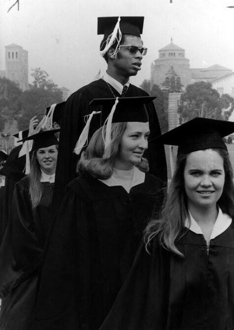 Lew Alcindor attends graduation