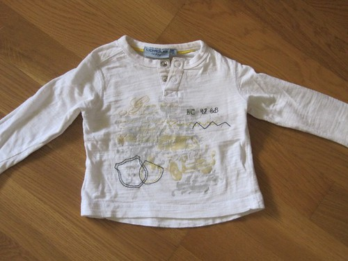 Gently used - boys long sleeve t-shirt - chf 5