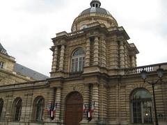 Le palais du Luxembourg - maintenant le sénat