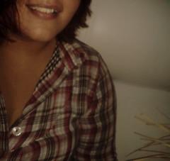 And how we all laughed.. (marri_) Tags: girl smile garota sorriso plaid xadrez sorrir quadriculado
