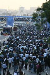- (6) (sabzphoto) Tags: people iran crowd protest 24 tehran farshad  khordad iranelection    farahsa