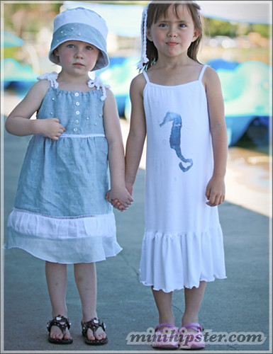 Faith and Colleen. MiniHipster.com: children's childrens clothing trends, kids street fashion, kidswear lookbook