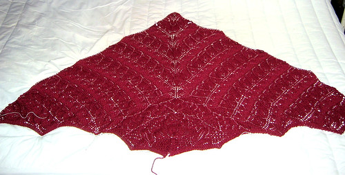 Lovely Lace Shawl - Section VI complete