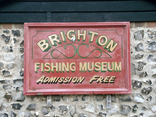 Brighton Fishing Museum sign by didemogmen