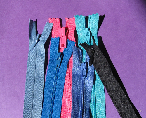 color zips