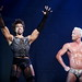 Juan Jackson as Frank n Furter with Lucas Glover as Rocky