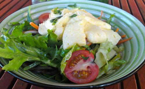 Haloumi Salad