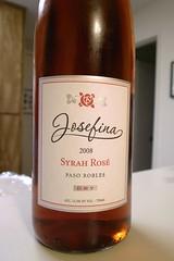 2008 Josefina Syrah Rosé