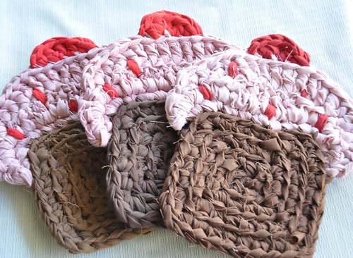 Pink Cupcake Trivet