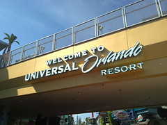 Arriving at CityWalk - Universal Resort