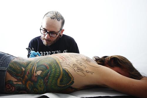 Rino @ Peek-a-Boo tattoo parlour