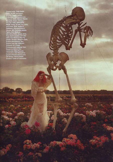 Harper's Bazaar Halloween, Fashion, Varnish