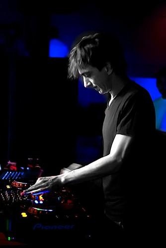 Ushuaia resident DJ Dimitri Nakov