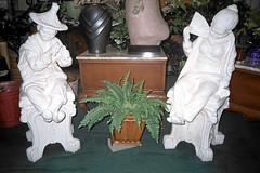 (paulaklee) Tags: white flower statue pittsburgh statues what flowershop shittsburgh