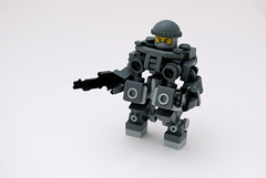 Close Combat Mk-2 Hardsuit (Ironsniper) Tags: war close military combat hardsuit brickarms
