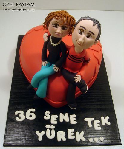 36.Yıldönümü Pastası / 36th Anniversary Cake