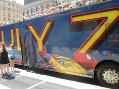Spider-Man Homecoming Bus Ad 2017 NYC 8297 (Brechtbug) Tags: spiderman homecoming bus ad movie poster billboard 49th street 7th avenue 2017 nyc super hero marvel comic comics character spider man new york city film billboards standee theater theatre district midtown manhattan amazing home coming ads advertising yellow jacket cel phone cell mobile cellphone