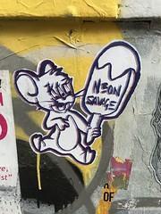 Graffiti in the Brick Lane area of Shoreditch (Ian Press Photography) Tags: graffiti brick lane area shoreditch street art streetart london neon savage jerry mouse