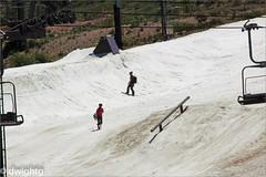 Last of the snow skiing (dwight g) Tags: canon 50d sigma 150500 snow resort sierras snowborders ps topaz
