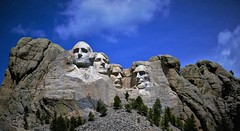 Happy 4th of July ! (Explored 07.04.2017) (BreezyWinter) Tags: happy4thofjuly holiday nationalmemorial mountrushmore usa southdakota history independenceday sculpture presidents unique america scenery world