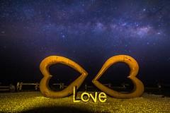 _MG_1929 (add875025) Tags: 石門班哨角 雙心 hualien galaxy 台灣 花東 石門雙心 love