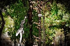 YohathEQ23032016 (YohAth) Tags: elogio quietud yohannan athalberth yohath trees outdoors wood nature leaf garden park summer flora landscape statue green golden silver art contrast