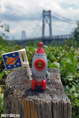 Rocket Boy (WattyBricks) Tags: rocket boy collectible minifigures series 17 mid hudson valley new york state upstate