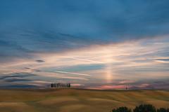 Deserto di Accona (ONINOT) Tags: deserto accona toscana tuscany siena tramonto crete senesi asciano