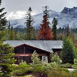 A Beautiful Mountain Backdrop for a Lodge in Sequoia National Park thumbnail